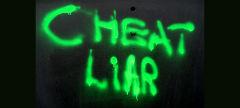 cheat & liar