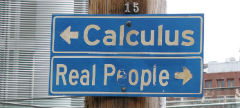 Calculus vs Real People